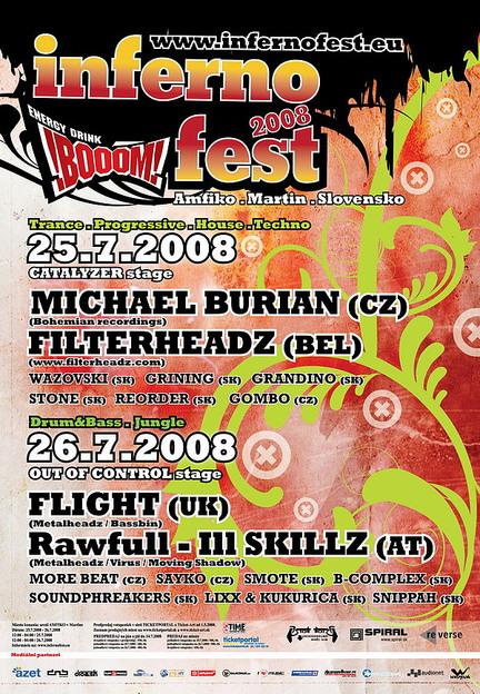 Inferno Boom Fest 25.07.2008 @ Amfiko, Martin