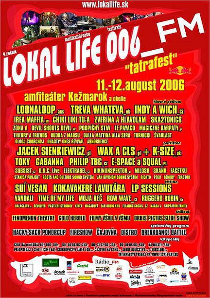 Lokal Life 006 plagát