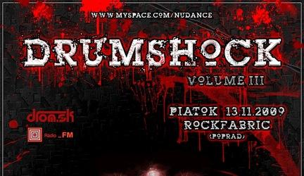 Fotoreport: DRUMSHOCK #3 - POPRAD - 13.11.2009