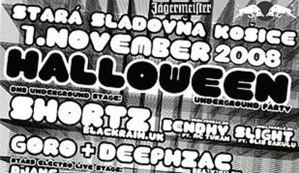 Halloween underground party - 1.11.2008@Stará Sladovňa