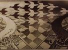 Escher bol Holandský umelec známy svojími kresbami a grafikami, v ktorých zobrazuje paradoxy perspektívneho kreslenia, topologicé útvary a rozvrhnutie roviny na pravidelné obrazce. Jeho diela môžete nielen vidieť, ale si aj priamo otestovať vašu predstavivosť v Escherovom múzeu v Den Haagu.