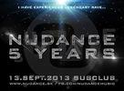 13.9.2013 sa v slovenskom najznámejšom underground clube uskutočnila oslava 5teho roku existencie úspešnej organizácie Nudance Music. Viac na www.nudance.sk