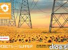 ROBOTS LOVE SUMMER SOL zachranoval tochto roku Kraftwerk bohuzial nedosiel Jeff Mills a DJ Tiga nahrada bola Marco Zaffarano a zive vystupenie Zombie Nation