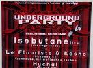 V sobotu sa v Popradskom Rock fabricu rozpútalo štvrté vydanie elektronickej párty Underground. Tento krát s podtitulom techno edition.