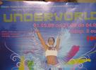 Prvá Underworld Dance Party sa uskutočnila v mega priestoroch haly Motokáry Tatry vo Svite, ktorá svojou veľkosťou pojme kľudne aj 1500 tancuchtivých ľudí. Účasť tejto premierovej ackie bola síce niečo cez 300, to nám ale nezabránilo vychutnať si adekvátny zvuk, svetlá, projekciu a tučný bar :) Úroveň vysoká, organizácia na jednotku, účasť nízka. Bude aj nabudúce? Zahrali EKG, Facet a Eruvie. Facet si pre technické problémy svoj set veľmi neužil..