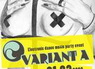 """Fotky z electronic dance music party eventu """"Varianta A"""", ktorý sa konal 1.3.2008 v popradskom Zanzibare. Line-up: DJ Facet (drom.sk) Sensoreal (myspec.com/sensoreal)"""