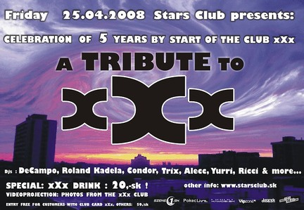 A Tribute to xXx @ Stars club