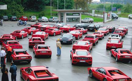 Lehman Brothers - Ferrari Protest