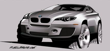 BMW X6 - koncept