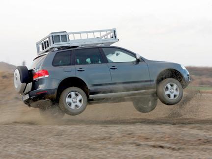 VW Touareg - offroad