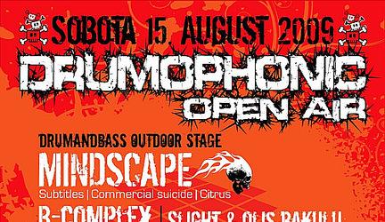 Drumophonic Open Air – Rozhovor Bcomplex + súťaž