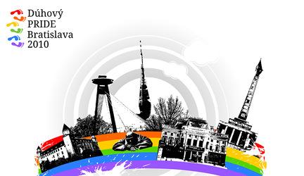 Dúhový PRIDE Bratislava 2010 - pochod za zrovnoprávnenie gayov, lasbičiek, bisexuálov a transexluálnych ľudí