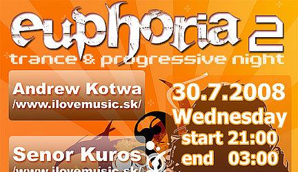 Euphoria 2 : last info + line up