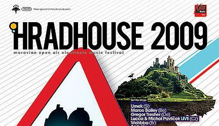 Hradhouse 2009 - súťaž o 2 lístky