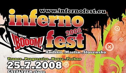 Inferno Boom fest @ catalyzer stage profily ceskoslovenskych djs