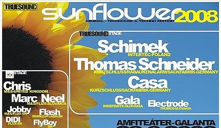 Sunflower 2008 - Kto sú DJ Casa a Thomas Schneider?