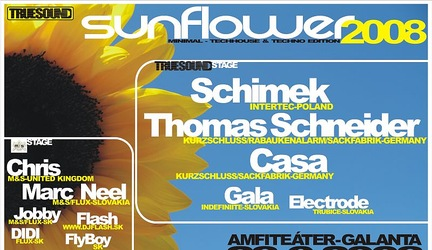 Sunflower Presents TrueSound Stage DJs