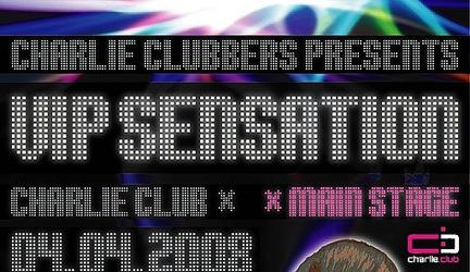 VIP SENSATION @ 04.04.2008, Charlie Club, Bratislava