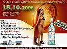 18.10.2008 - Popradom otrasie narodeninová party