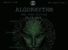 AlgoRhythm 20.10. Empire club Bratislava