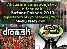 Bažant Pohoda 2010 - Aktuálne spravodajstvo z festivalu, fotky, videa, reportáže