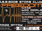FREEDOM – Stars Club Re-openning party 15.8.2008
