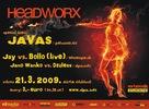 Headworx - Alpia klub Martin 21.3.2009 s DJ Javas
