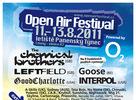 Open Air Festival 2011 - Odhalil obriu športovú a adrenalínovú zónu