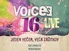 Po letnej pauze prichádza Voices Live 16