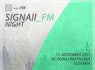 Signall_FM Night - Objavte s nami novú hudbu!