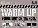 "Sonne Edition presents: Warm Up party ""Da Hool"""