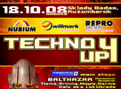 Techno Up 4 - House & progressive stage
