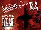 Tretí zo série pretekov Nokia Snowboard X Tour vo Veľkej Rači