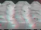 Vinyl pod elektrónovým mikroskopom