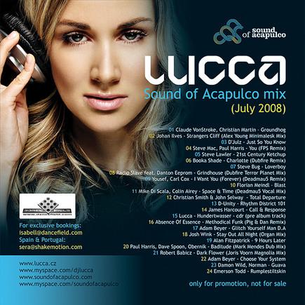 Lucca-Sound of Acapulco mix (Júl 2008)